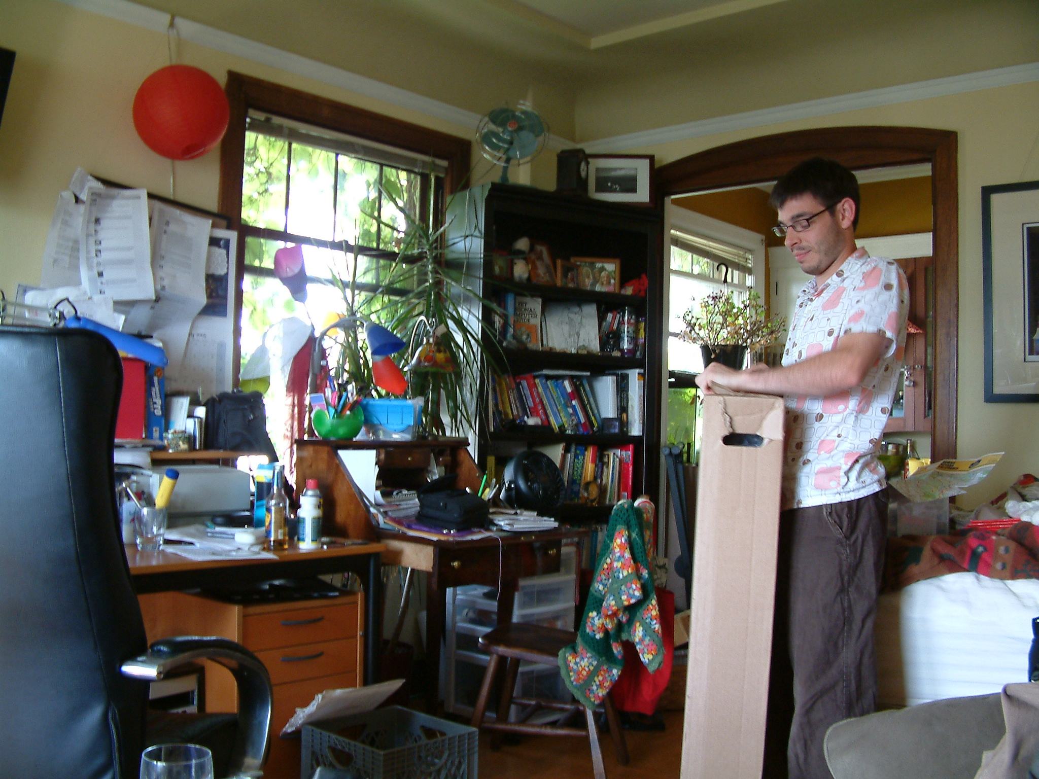 This is my studio apartment just before we moved into a bigger place.